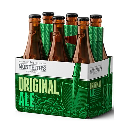 Monteiths Original Ale ^PK BTLS Monteiths Original Ale