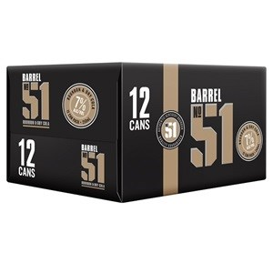 Barrel51 Bourbon & Cola 12pk 250ml 7% Cans