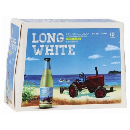 LONG WHITE LEMON 10PK BTLS LONG WHITE LEMON 10PK
