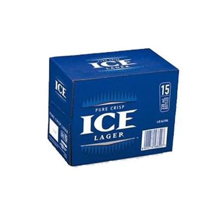 ICE BEER 15PK BTLS ICE BEER 15 PK