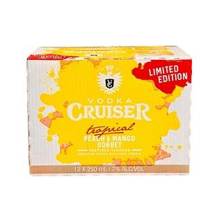 CRUISER Tropical 12PK CANS Peach & Mango