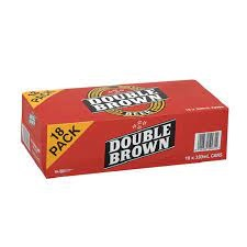 Double Brown 18PK 330ML CANS