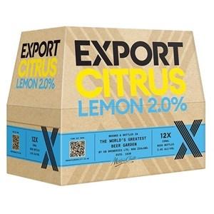 EXPORT CITRUS 12PK BOTTLES 330ML